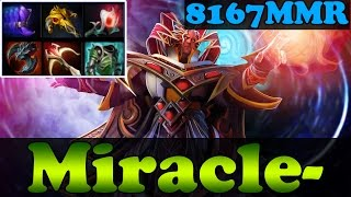 Dota 2 - Miracle- 8167MMR TOP 1 MMR IN THE WORLD Plays Invoker vol 25 - Ranked Match Gameplay