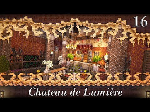 _Ep.16_ (Great Hall Interior) - Let's Build Chateau de Lumiere [Minecraft]