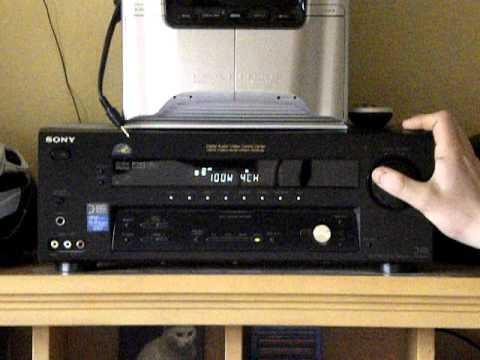 sony str de695 100watt receiver amplifier youtube rh youtube com sony str-de1075 remote sony str-de1075 specs
