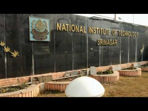 NIT SRINAGAR -Most Beautiful College of India