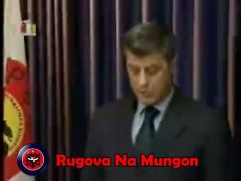 Hashim Thaqi telegram ngushllimi per Dr.Ibrahim Rugoven (21.01.2006)