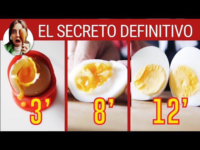 Cuanto tiempo debe hervir un huevo duro