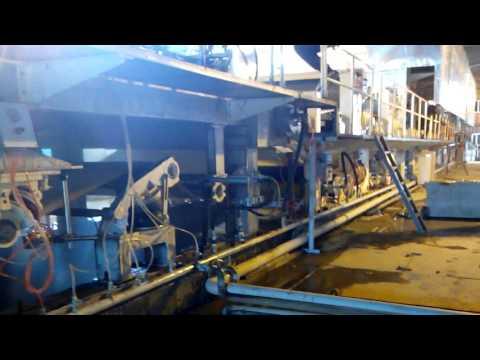 kraft fluting test liner paper production line for carton paper making