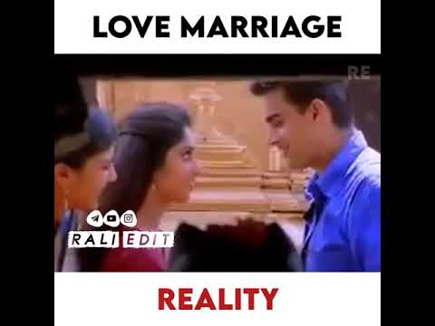 Download love marriage expectation vs reality🤣 girls whatsapp status😍