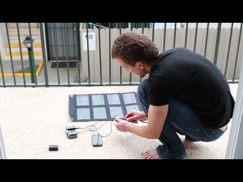 Backpacking Gear: Solar Charging for dSLR Camera Batteries