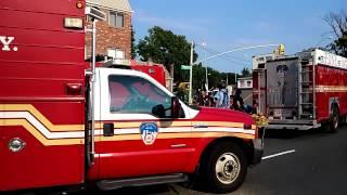 FDNY RAC 4 On Scene Of A 10-60 Major Emergency In Queens, NY