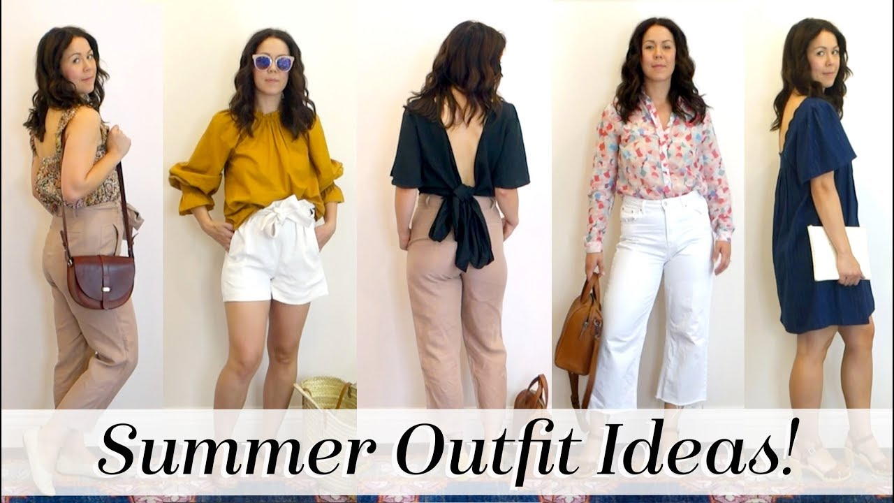 6 Summer Outfit Ideas for Work & Weekend | Lookbook | Kait Bos 6