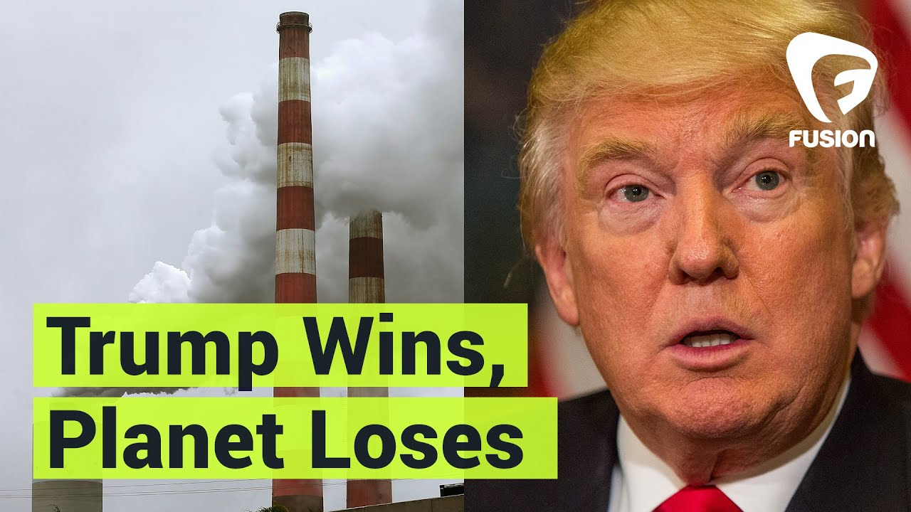 Donald Trump's Presidency Is Bad for the Environment - YouTube