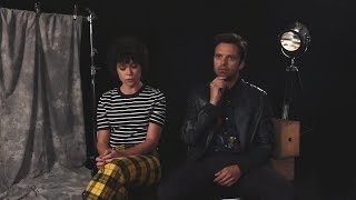 Себастиан Стэн и Татьяна Маслани объясняют, чем им нравится фильм «Разрушитель» (русские субтитры)