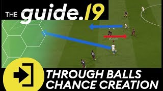FIFA 19 LOW THROUGH BALL CHANCE CREATION TUTORIAL How to get the PERFECT TIMING for deep passes