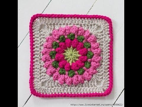 Crochet Patterns For Free Crochet Blanket Squares 2264 Youtube