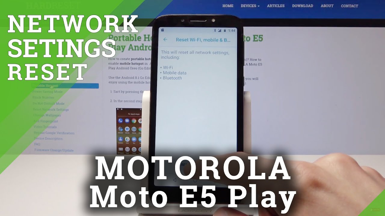 Motorola Moto E5 Play APN settings & network compatibility