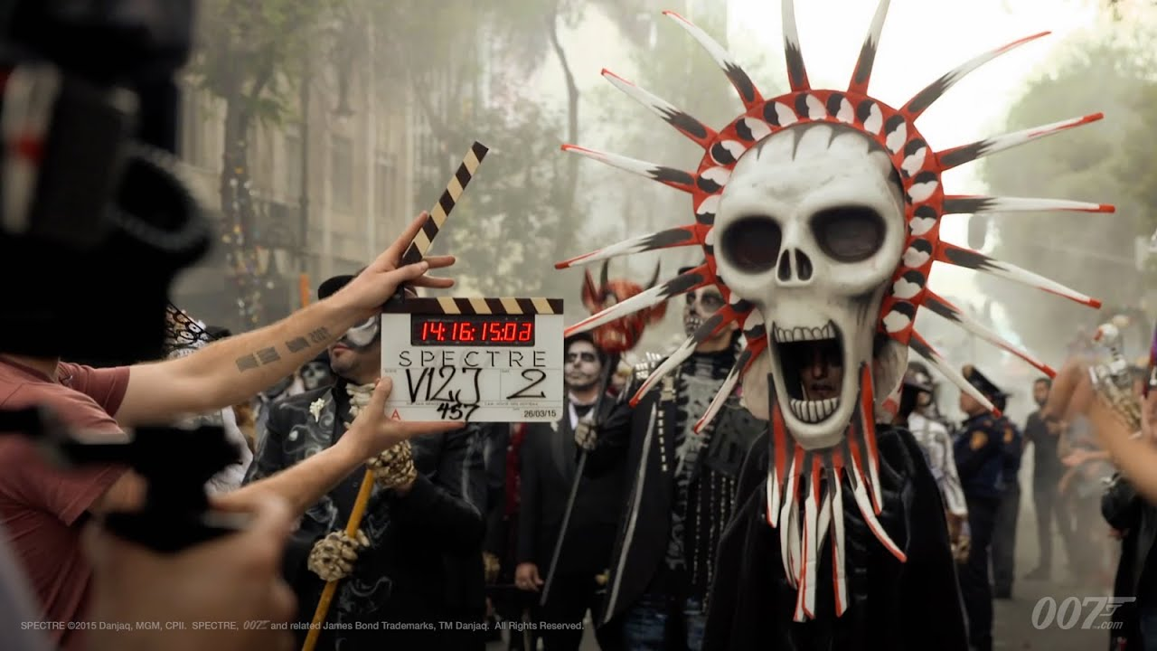 Sugar Skull Girl Wallpaper Spectre Vlog Features Day Of The Dead Festival Youtube