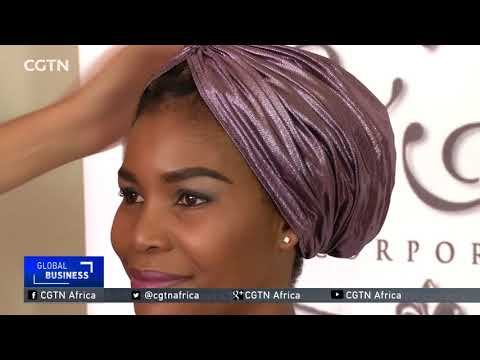 South African entrepreneur turns iconic head wrap into fashion accessory