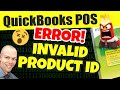Quickbooks POS Invalid Product Number - Fix Error, Quickbooks Point of Sale Invalid Product Number