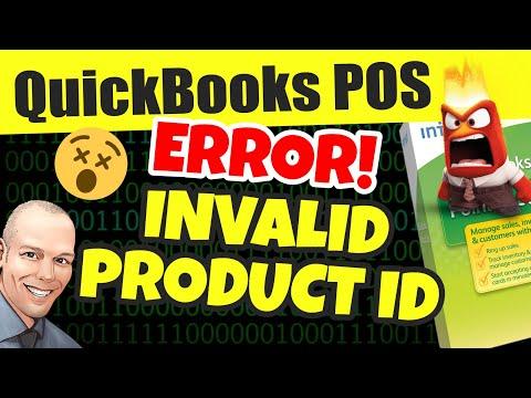 Quickbooks POS Invalid Product Number - Fix Error, Quickbooks Point of Sale Invalid Product Number