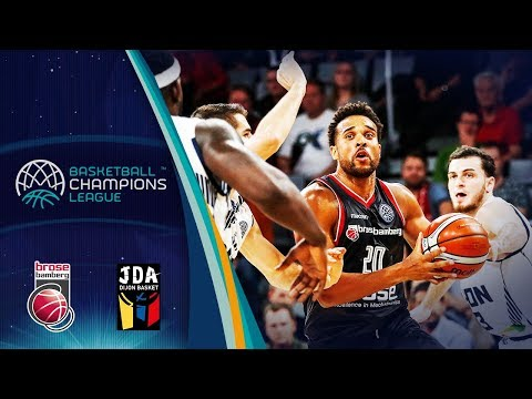 Brose Bamberg v JDA Dijon - Full Game - Gameday 2 - Basketball Champions League 2018-19