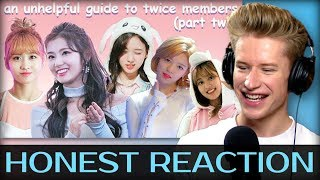 HONEST REACTION to an unhelpful guide to twice members (part 2)