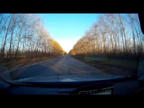 [Time-lapse] + маршрут. Из Новосибирска в Новокузнецк за 16 минут.