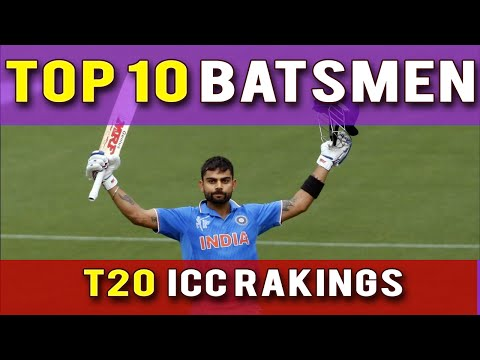 Top10 Twenty20 (T20) Batsmen || ICC Player Rankings 2016