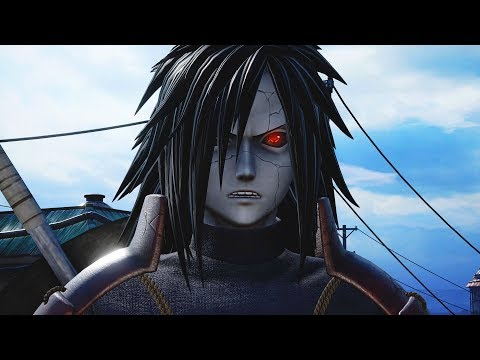 Jump Force - Madara Uchiha Moveset & Vs Gameplay DLC! (HD)