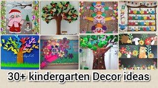 30+ Kindergarten decorations ideas    creative Kindergarten school decorations  