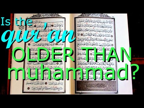 The qur'an might be much older than has been reported by muslims (The Infidel 2015-10-02) from YouTube · Duration:  3 minutes 58 seconds