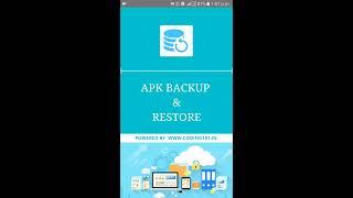 APK Backup & Restore Preview
