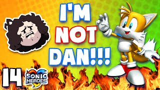 Dan discusses his REAL FIRST NAME - Sonic Heroes: PART 14