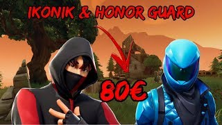 🔴 FORTNITE CUSTOMS COM SUBS//ICONIC VENDO & HONOR GUARD 100% LEGIT
