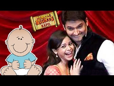 Kapil Sharma's wife PREGNANT | Comedy Nights with Kapil | 5th July 2014 Episode