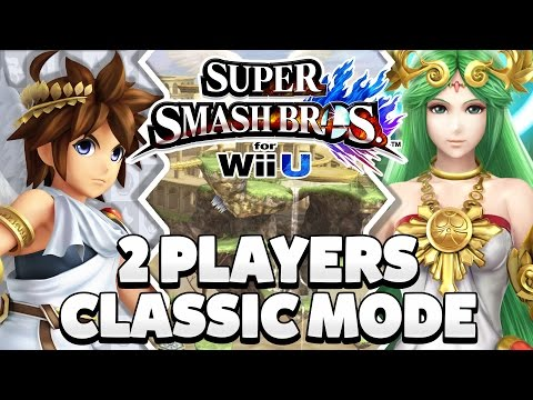 Super Smash Bros. Wii U - Pit & Palutena Classic Mode [1080p HD]