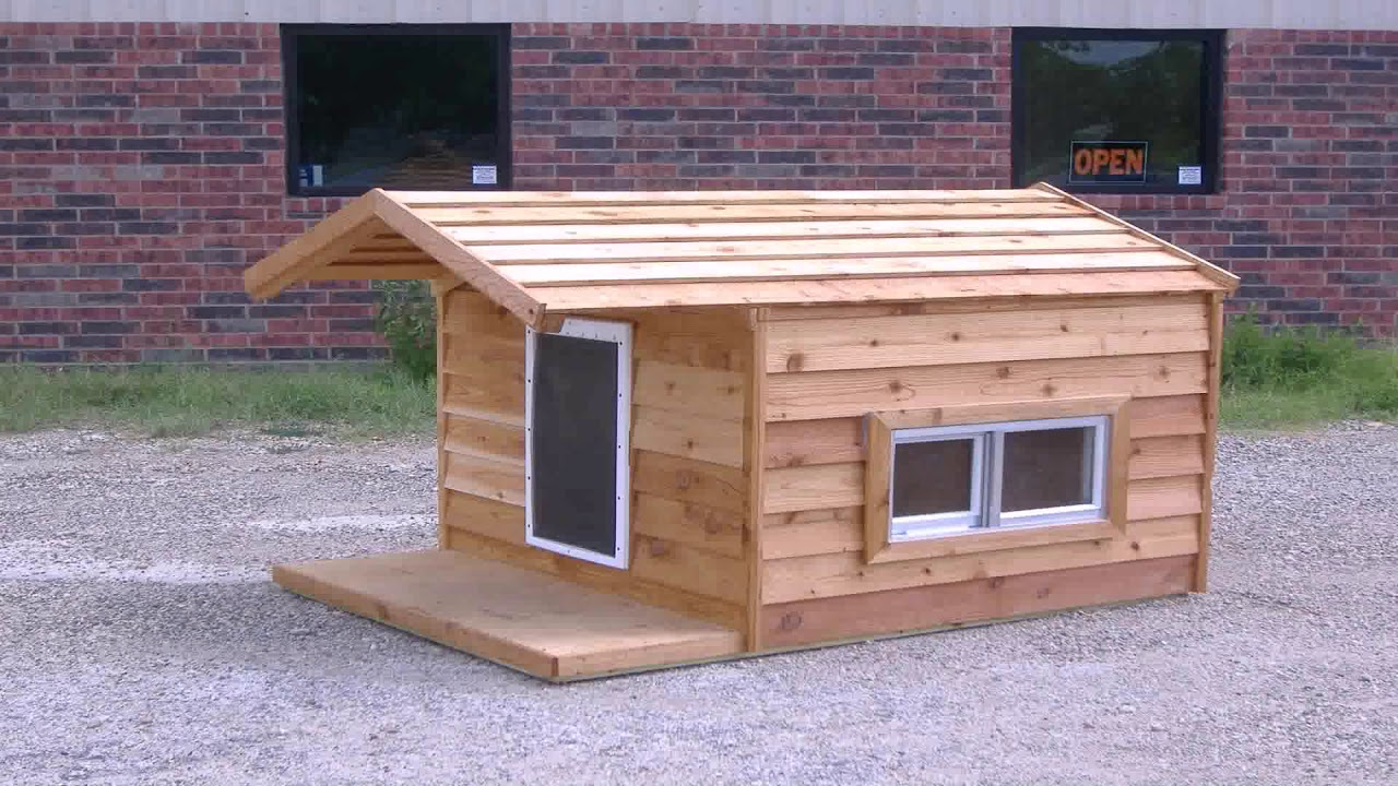 Simple Flat Roof Dog House Plans