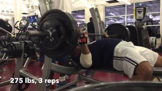 40 & Over - Masters Powerlifting: Bench Press Training, 11/15/15