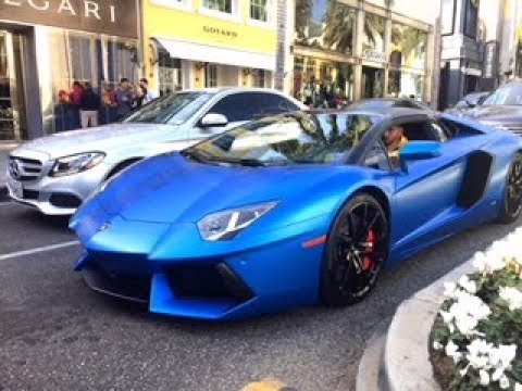Supercars in Beverly Hills!