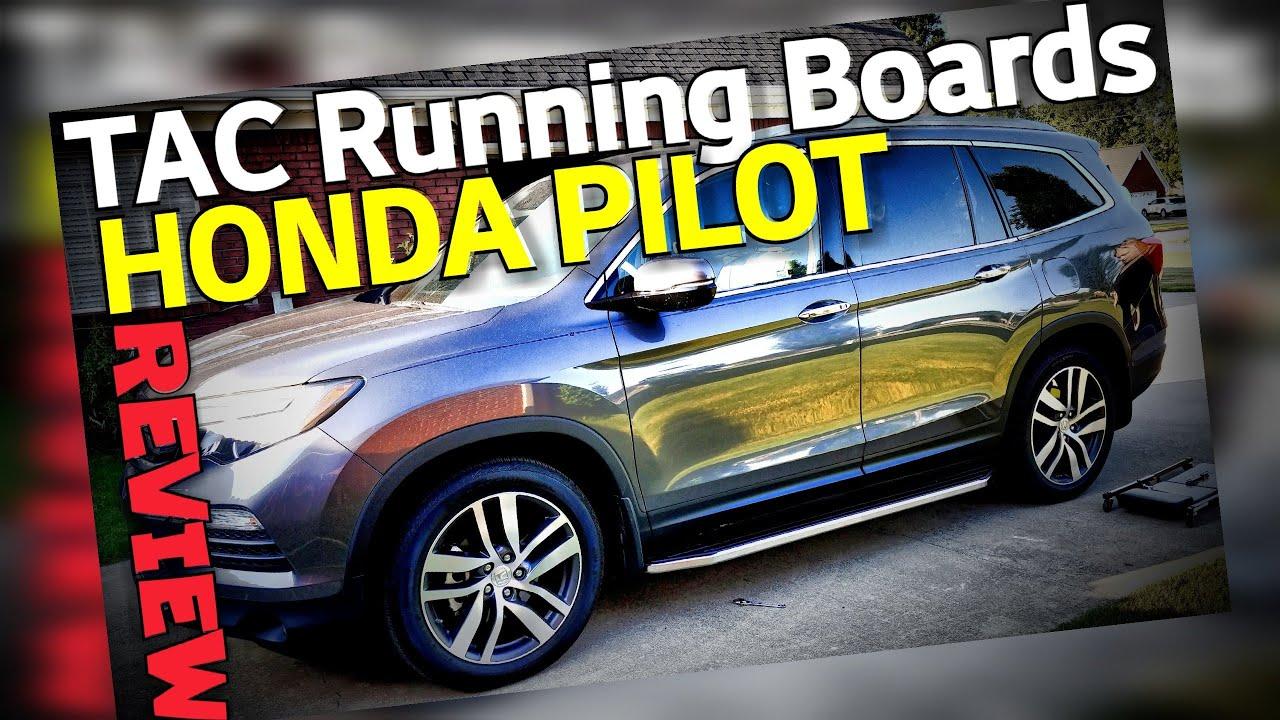 Tac Running Boards For Honda Pilot 2015 2019 Youtube