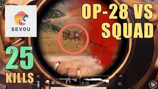 DEADLIEST Weapon in PUBG | 25 KILLS | SOLO SQUAD | PUBG MOBILE