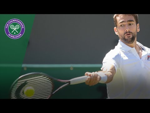 Marin Cilic vs Guido Pella 2R Highlights | Wimbledon 2018