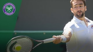 Marin Cilic vs Guido Pella 2R Highlights | Wimbledon 2018
