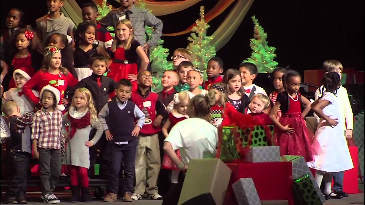 Christmas Choir.Its Christmas Time Performed By The Kids Choir