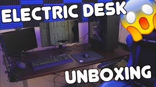 UNBOXING: New Streaming Sit-Stand Desk!