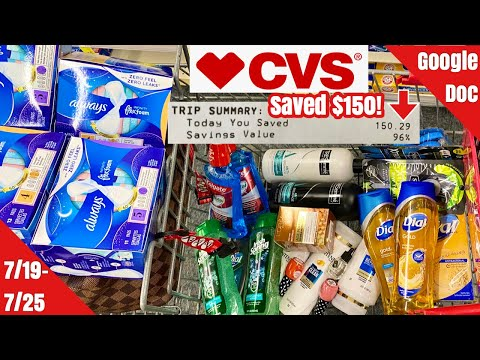 CVS Free & Cheap Coupon Deals & Haul | 7/19 -7/25 | $150 in Personal Care Freebies & Money Makers! 🔥