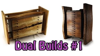 Dual Builds #1  Spirit Of The Woods Jewelry Boxes
