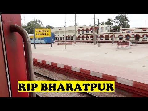 WAP7 TVC Rajdhani Thrashes Bharatpur Junction