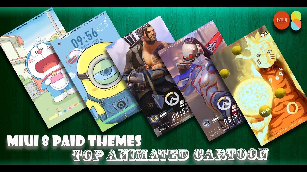 Top MIUI 8 Themes