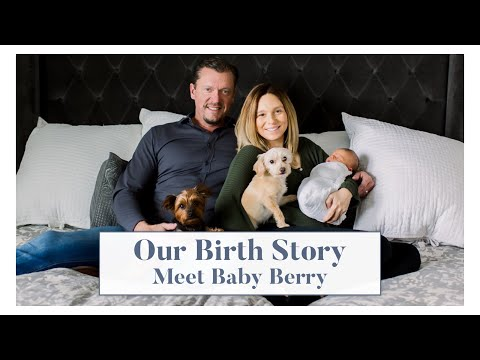 Our Dramatic Natural Birth Story | Meet Baby Berry