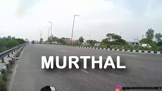 Just in 30 minutes Delhi to Haryana Murthal on Pulsar RS200!! @Amrik Sukhdev Dhaba