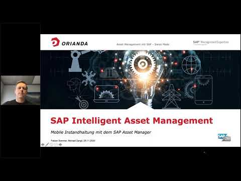 Webinar: Mobile Instandhaltung mit dem SAP Asset Manager (25.11.20)