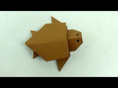 Diy Paper Turtle | How To Make An Origami Turtle | Paper Toy Tortoise Making Tutorial (Marc Vigo)