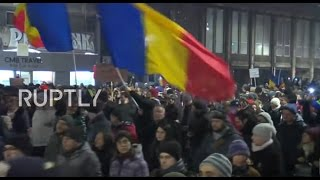Romania  Thousands protest over plans to amnesty bill for prisoners